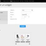 Regie CPC VShop Créer un Widget